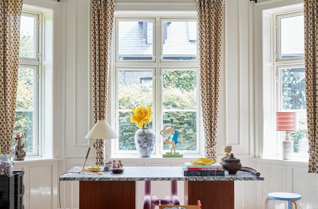 Inside the Copenhagen home of Ganni's Ditte and Nicolaj Reffstrup
