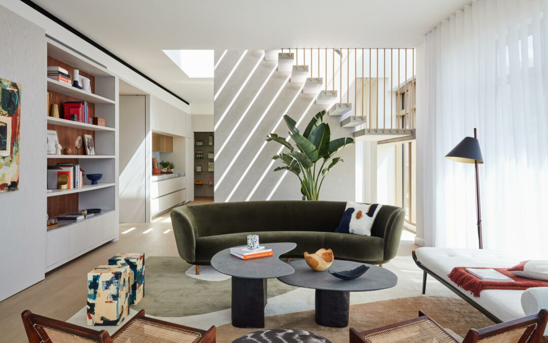 Conran and Partners' Kings Cross penthouse balances drama and calm